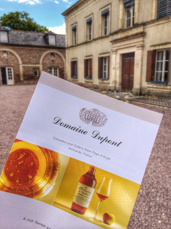 domaine dupont cidery normandy